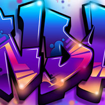 Graffiti Font - Sleek